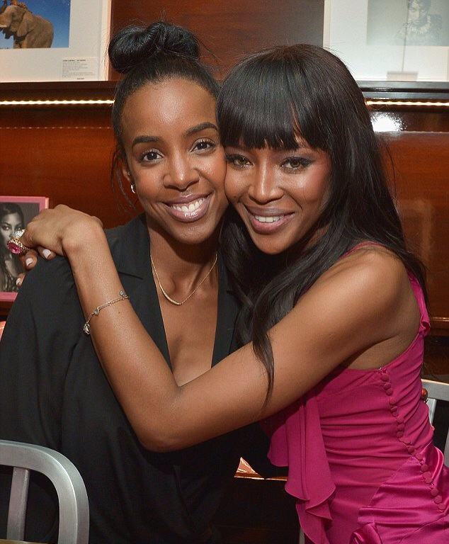Kelly Rowland and Naomi Campbell