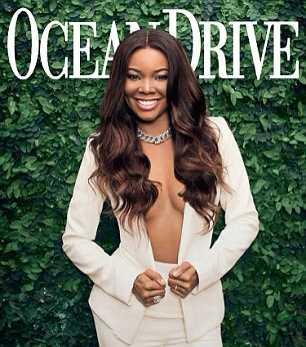Gabrielle Union covers Ocean Drive Magazine