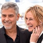 Julia Roberts and George Clooney are having fun on the red carpet of the Cannes Film Festival