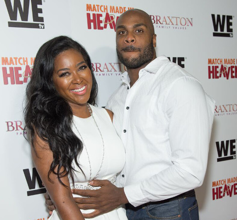 Kenya Moore and her boyfriend Match Made In Heaven premiere