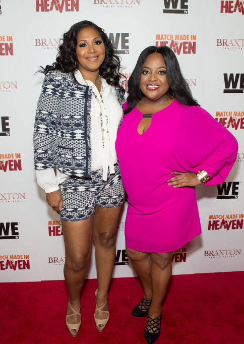 Sherri Shepherd and Trina Braxton