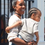 Kelly Rowland has learn the key to patience with her son