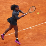Serena Williams qualified for round 2 at French Open