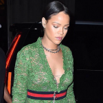 Rihanna enjoys a night out in New York City