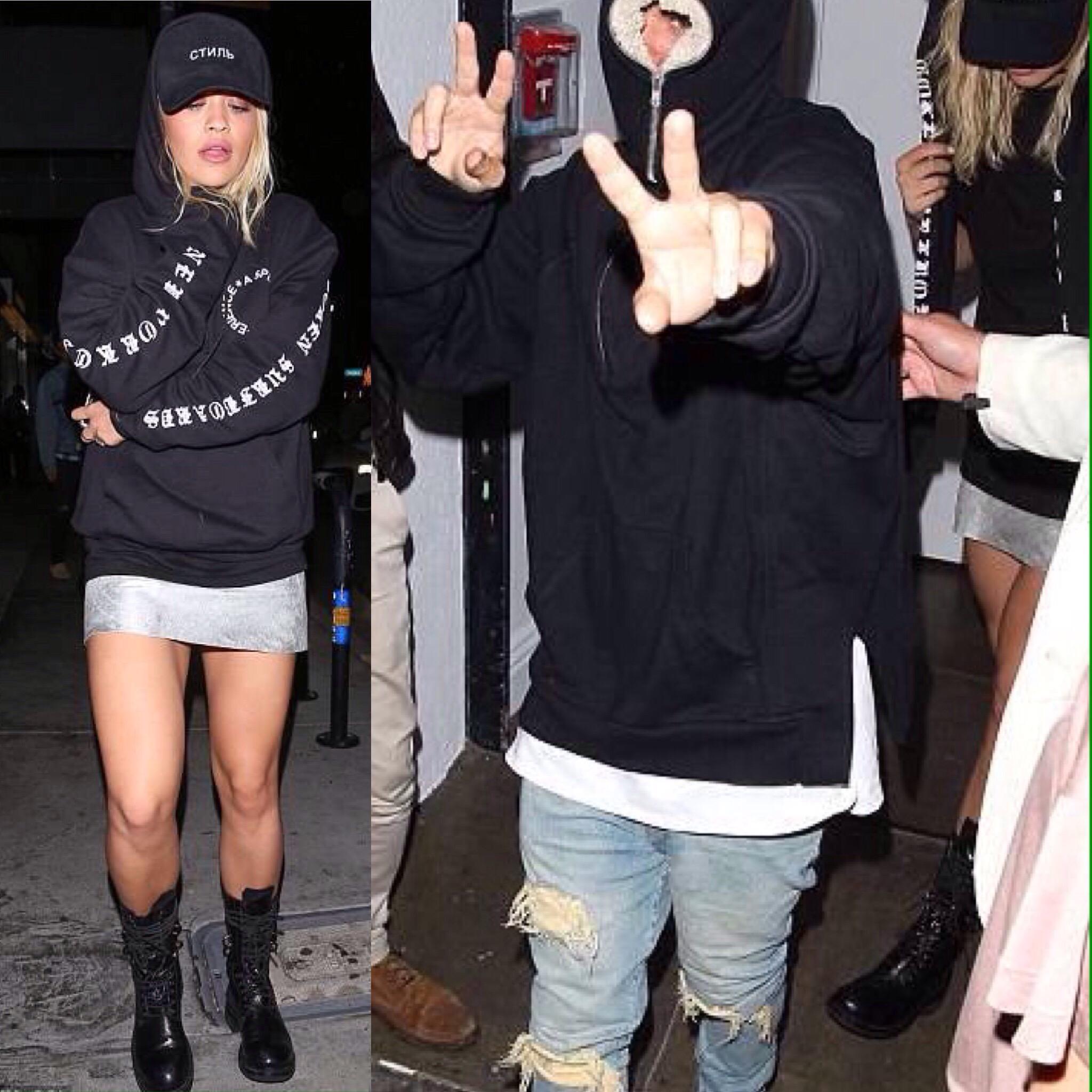 Rita Ora and Justin Bieber