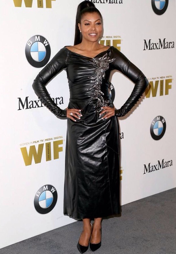 Taraji P. Henson at the Women In Film + Lucy Awards