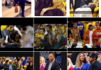 Ciara and Russell Wilson at the NBA finals 2016