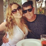 Mariah Carey is having fun with her fiancé and is working on new music