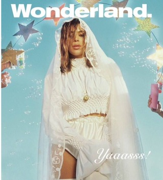 Kim Kardashian is the new cover of Wonderland
