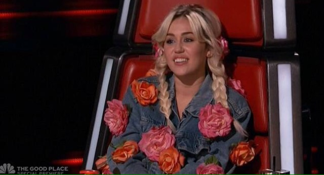 Miley Cyrus - The Voice