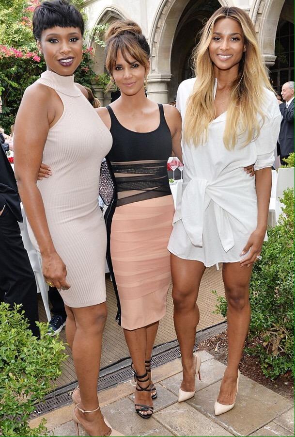 Halle Berry, Jennifer Hudson and Ciara