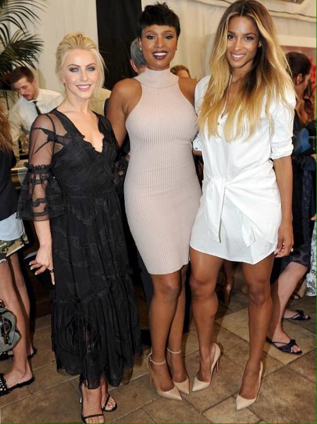 Jennifer Hudson and Ciara