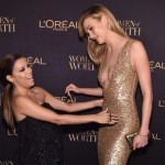 Eva Longoria and Karlie Kloss attended L'Oreal Paris Women of Worth Celebration 2016