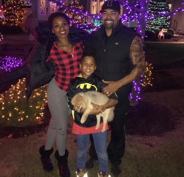 Jennifer Hudson and family