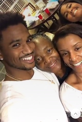 Trey Songz and family
