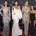 Christina Milian, Khloe Kardashian, Kourtney Kardashian at the Angel Ball in NYC