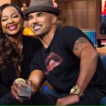 Phaedra Parks and Shemar Moore shared a kiss on Watch What Happens Live