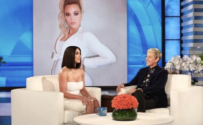 Kim Kardashian Ellen Show