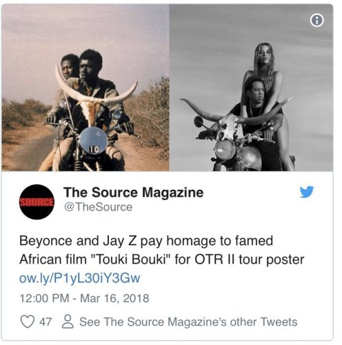The Source Magazine Tweet