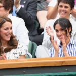 Meghan Markle and Drake showed supporting Serena at Wimbledon 2018