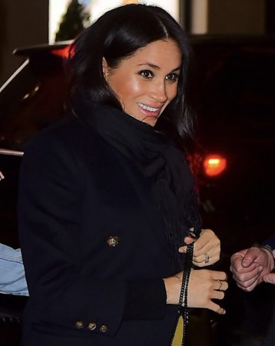 Meghan Markle out in NYC