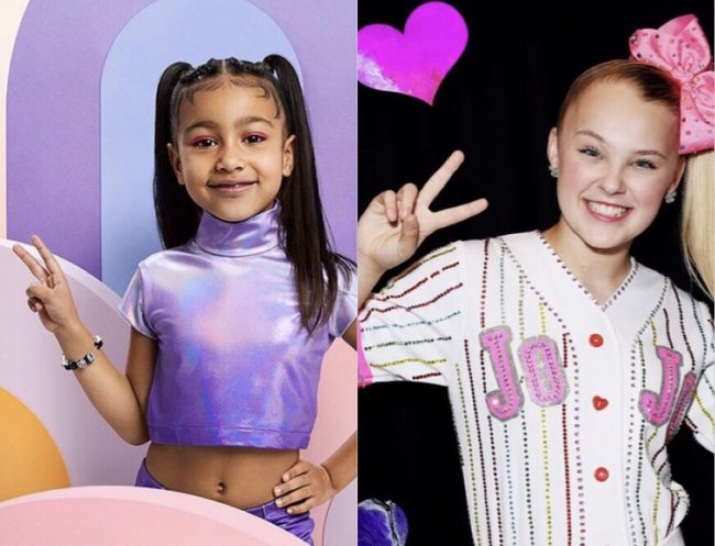 North West and Jojo Siwa