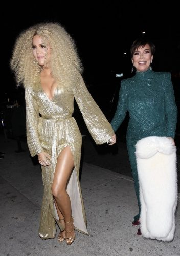Khloe Kardashian and mom Kris Jenner