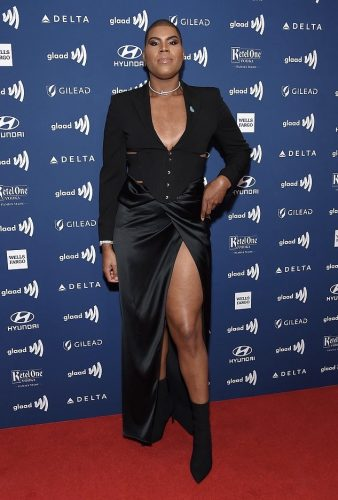 EJ Johnson at GLAAD Awards 2019