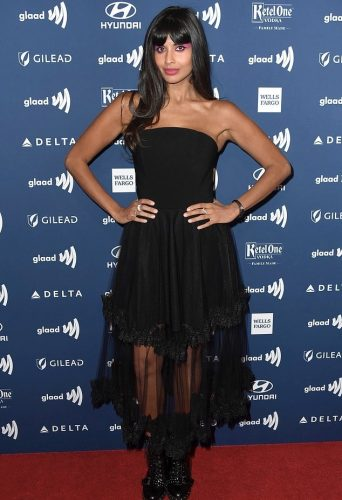 Jameela Jamil at GLAAD Awards 2019