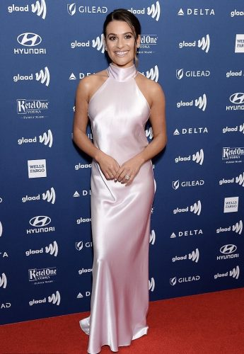 Lea Michele at GLAAD Awards 2019