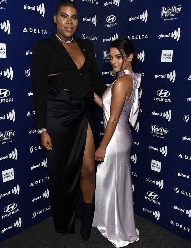 EJ Johnson and Lea Michele