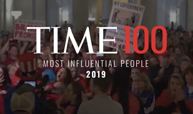 2019 Time 100 Most Influential