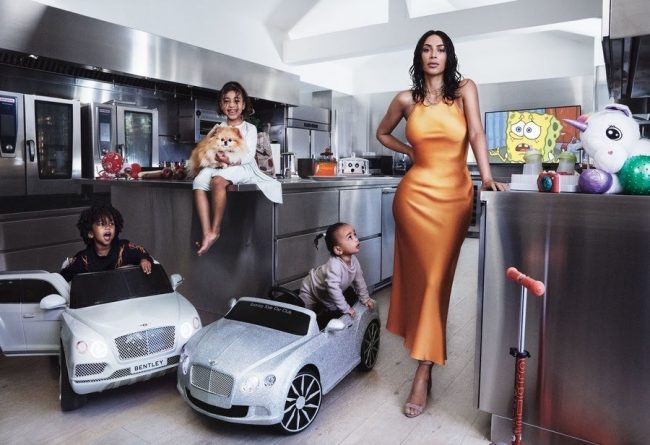 Kim Kardashian Vogue Magazine