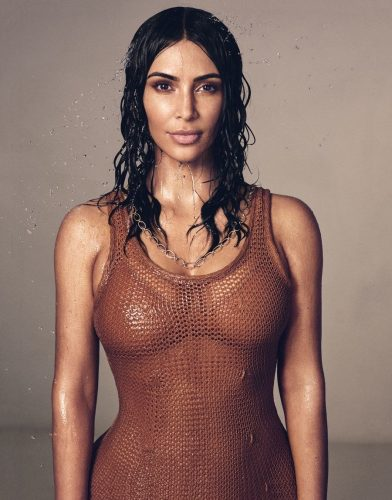 Kim Kardashian covers new Vogue Magazine
