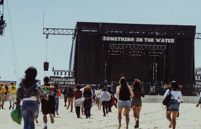 Diddy, Usher, Travis Scott and more at Something in the Water Festival