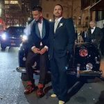 Marc Jacobs tied the knot with  his fiance Charly Defrancesco