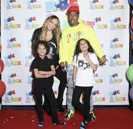 Mariah Carey, Nick Cannon and their children