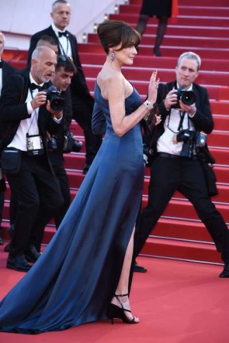 Carla Bruni Cannes Festival 2019
