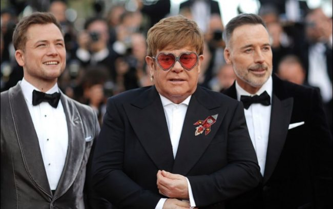 Elton John at Rocketman movie premiere at Cannes 2019