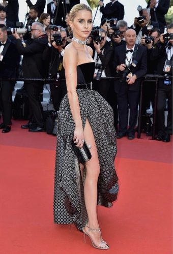 EltonBella Caroline Daur Rocketman movie premiere at Cannes 2019