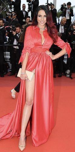Delphine Wespiser at Cannes Film Festival 2019