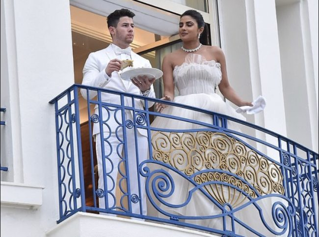 Priyanka Chopra and Nick Jonas Cannes 2019 Day 4