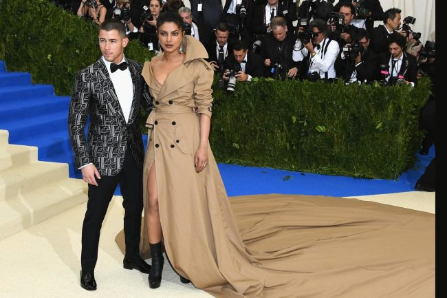 Nick Jonas and Priyanka Chopra MET Gala 2017
