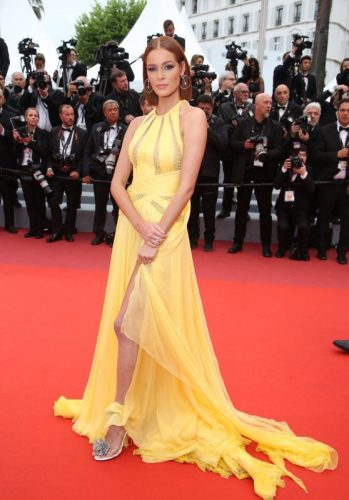 Maeva Coucke at Cannes Film Festival 2019