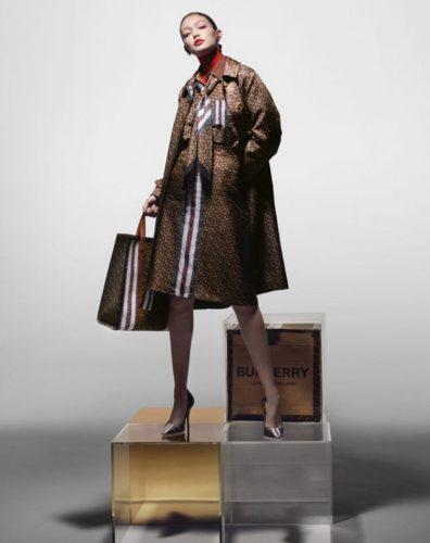 Gigi Hadid - Burberry new campaign 2019