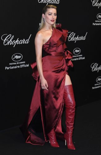 Amber Heard at Chopard Party Cannes 2019