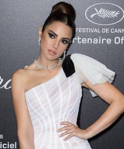 Dorra Barrouk at Chopard Party Cannes 2019