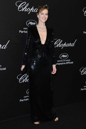 Eva Herzigova at Chopard Party Cannes 2019