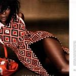 Naomi Campbell promeut le LUXE dans W Magazine de juillet 2012