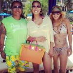 Carmelo et Lala Anthony ainsi que leur troupe débarquent à Porto Rico